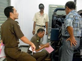 Genset UNPATTI disegel Kejati Maluku (Siwalima)